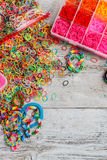 Loom bands Stock Image