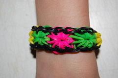 Loom bands Stock Photos