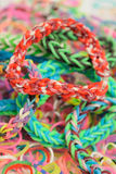 Loom bands Royalty Free Stock Photo