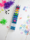 Loom bands and loom Stock Image
