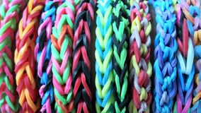Loom bands Stock Photo