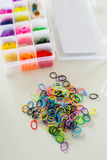 Loom bands set Stock Image