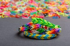 Loom bracelet Stock Photo