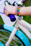 Loom bracelets Royalty Free Stock Photography