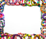 Loom bracelets Royalty Free Stock Photo