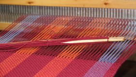 Loom called comb or mary Royalty Free Stock Image