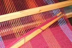Loom. Fittings,    known as comb or maria Stock Photo