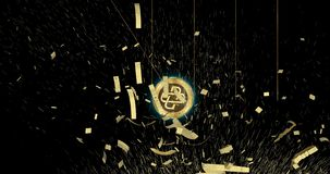 Loom Network LOOM cryptocurrency coin demolish main world currencies.