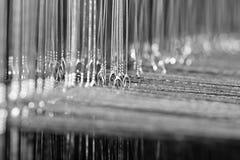 Loom thread micro, closeup shot Royalty Free Stock Photography