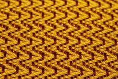 Loom weaving design Stock Image