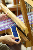 On The Loom Stock Image