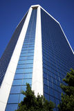 A Looming Glass Tower Royalty Free Stock Photos