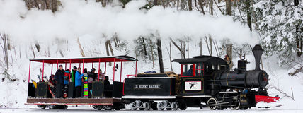 Loon Mountain Train royalty free stock photography