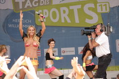 Loona- Day of sports/ Vienna 2011 Royalty Free Stock Images