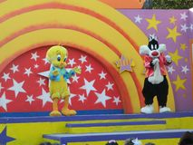 Looney tunes. Six flags vacations Royalty Free Stock Photos