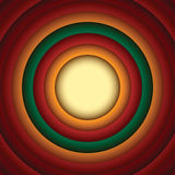 Looney tunes style Circle Abstract Background Stock Photos