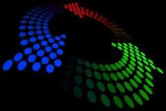 Loop. Vector illustration of abstract loop Stock Image