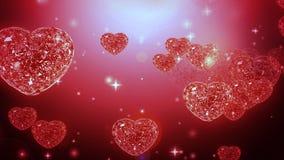 Loop able Diamonds Heart Stock Photo