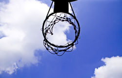 Loop basketball Royalty Free Stock Image