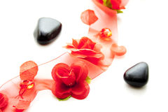 Loop and black stones Royalty Free Stock Image