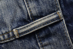 Loop of a Blue Jeans Royalty Free Stock Photos