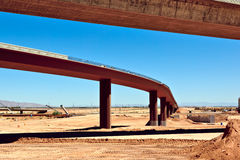 Loop 303 Bridge Interchange Section Near Completion Royalty Free Stock Photo