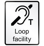 Loop Facility Information Sign Stock Photography