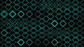 Loop Glow Shapes Geometric Pattern Minimal Background