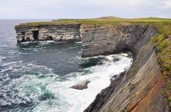 Loop head cliffs, Ireland Stock Photo