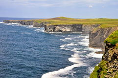 Loop head cliffs, Ireland Stock Photo