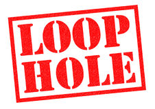 LOOP HOLE Royalty Free Stock Image