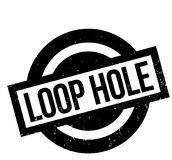Loop Hole rubber stamp Royalty Free Stock Image