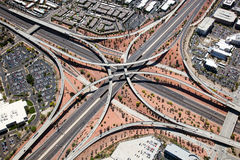 Loop 101 & I-17 Interchange Royalty Free Stock Images