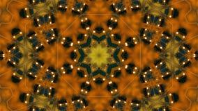 Loop kaleidoscope background stock video