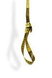 Loop from measurement tape Royalty Free Stock Image