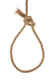 A loop of rope Royalty Free Stock Photo