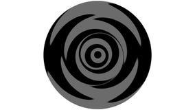 Loop Rotation Yin-Yang stock footage