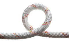 Loop of safety rope royalty free stock photo