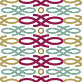 Loop seamless pattern Royalty Free Stock Image