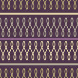 Loop seamless pattern Stock Image