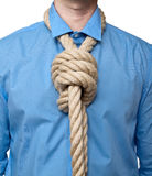 Loop tie Stock Photography