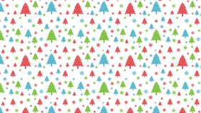 Loopable christmas background Royalty Free Stock Image