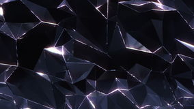 Loopable crystal background stock video footage