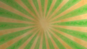 Loopable seamless retro background video - green Royalty Free Stock Photography