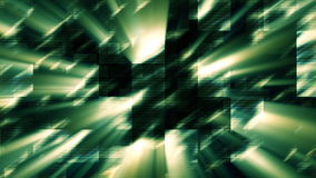 loopable Shining Dark Green Background / Cubic / Square / lively Royalty Free Stock Photography