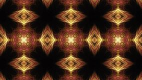 Loopable and tileable kaleidoscopic flame fractals. Highly complex kaleidoscopic animation with intense pulsing moves. Tileable and seamlessly looping flame vector illustration