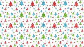 Loopable-Weihnachtshintergrund Lizenzfreies Stockbild