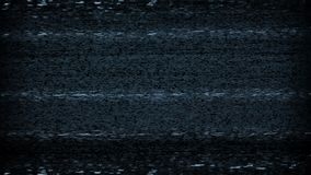 TV Static Noise Loop. Looped shot for endless playback – TV static noise tuning stock video