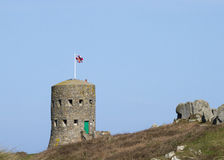 Loophole towers in Guernsey Royalty Free Stock Image