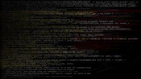 Loopingów dane kodu teksta PNG Alfa kanał zbiory wideo